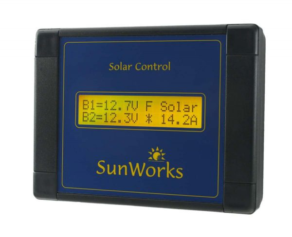 dual battery solar charge controller