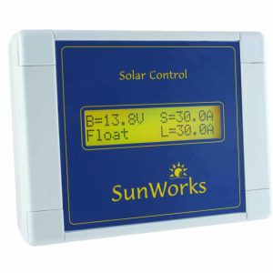 solar controller remote display