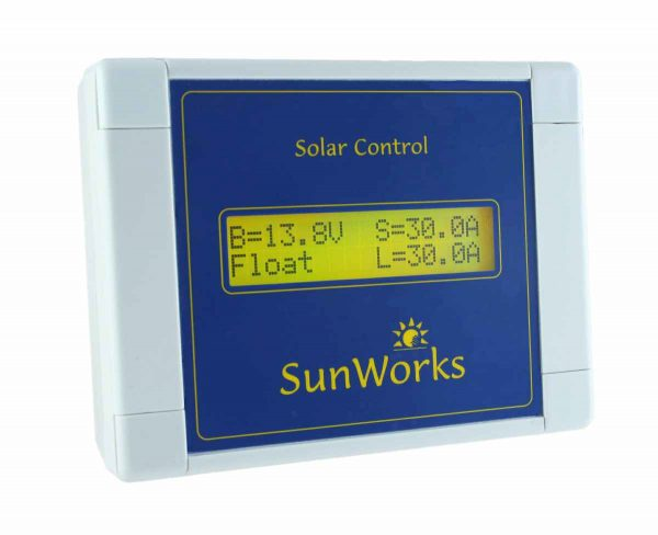 solar controller remote display