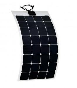 fixing a solar panel to a caravan
