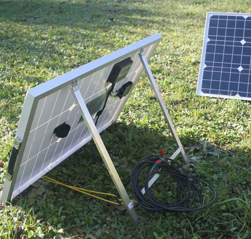 Portable Solar Panel 50 Watts Sunworks