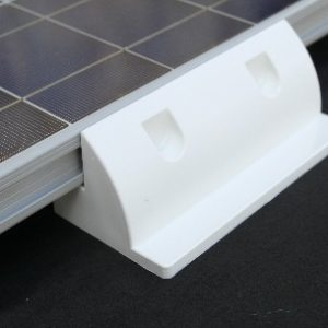 solar panel short side mounts