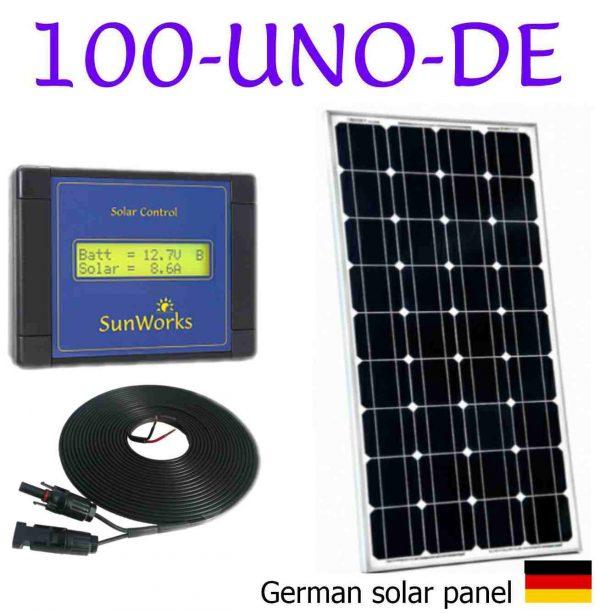 boat solar panel kit