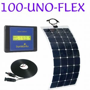 flexible solar panel kit