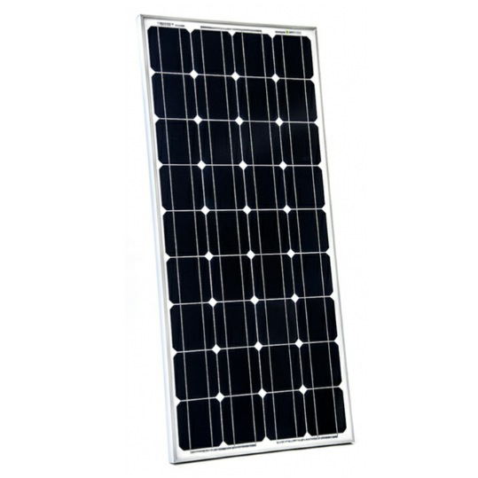 solar panel 100 watts rigid aluminium frame by sunworks. Black Bedroom Furniture Sets. Home Design Ideas
