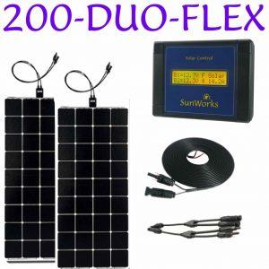 200 watt semi-flexible
