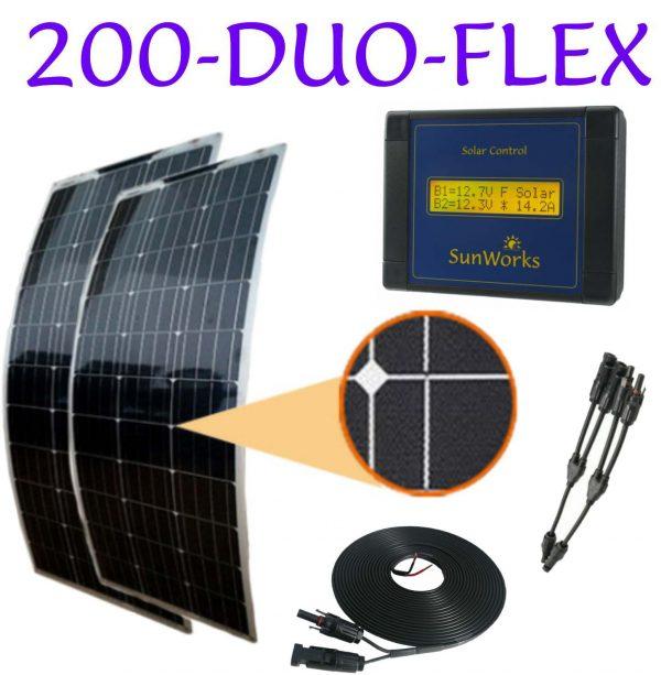 solar panel kits for camper-vans