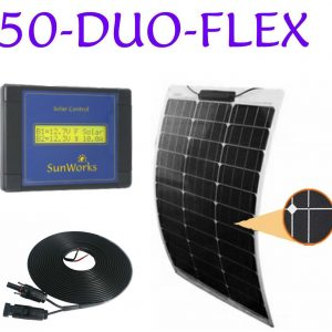 semi-flexible solar panel kits for boats