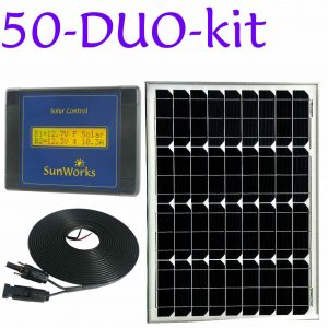 solar panel kit for motorhomes and boats