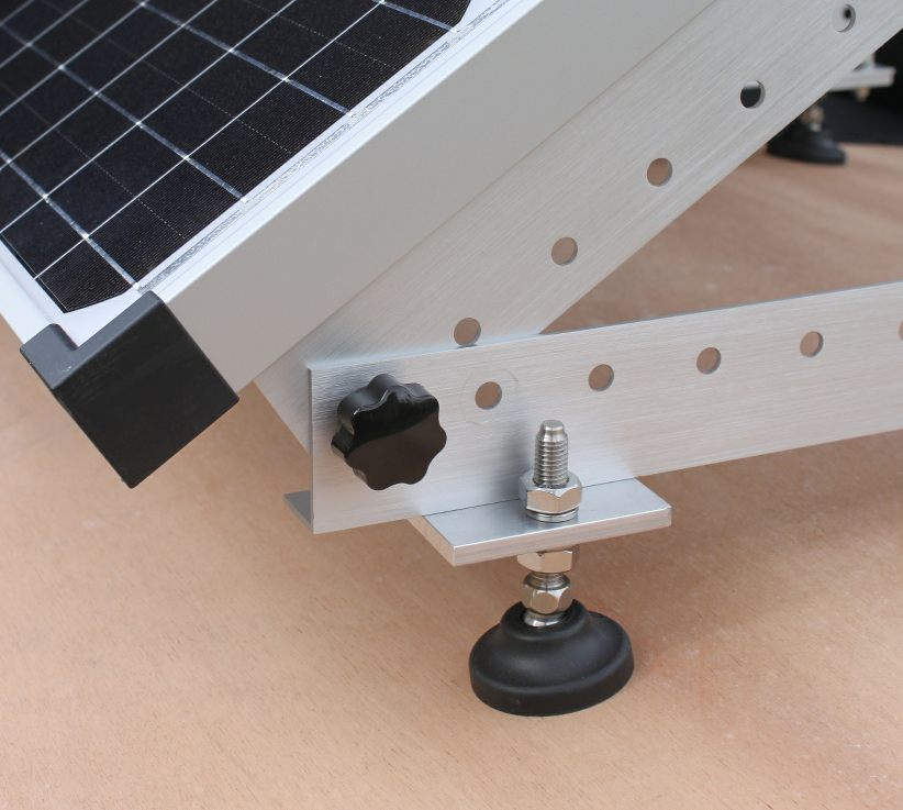 Fitting A Solar Panel To A Narrowboat With A Curved Deck