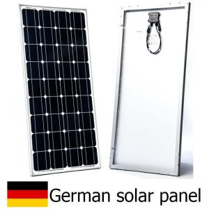 Rigid framed solar panels