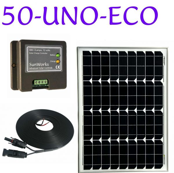 solar panel kit for a campervan