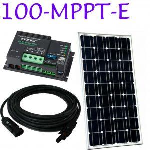 MPPT solar panel kit
