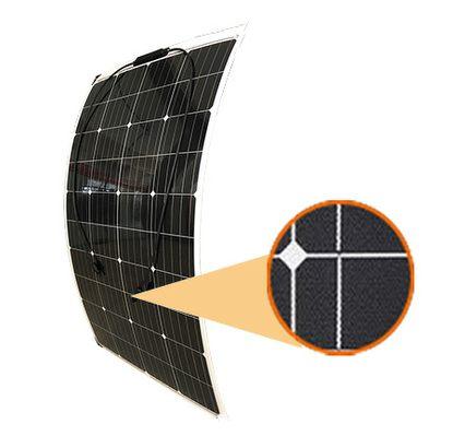 semi-flexible 120 watt solar panel