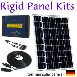 Solar Panel Kits: Rigid Framed