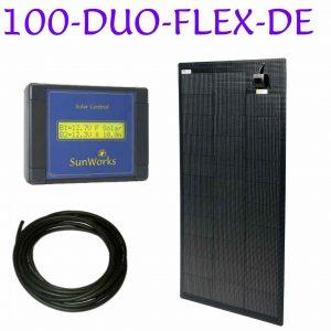 semi flexible dual battery